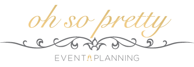 oh-so-pretty event planning logo