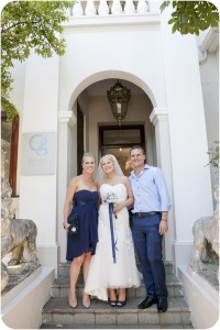 Cape Town wedding planner get married
