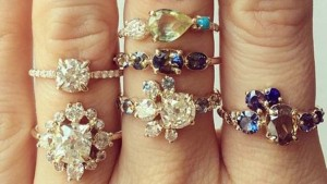 Engagement rings on oh so pretty planning